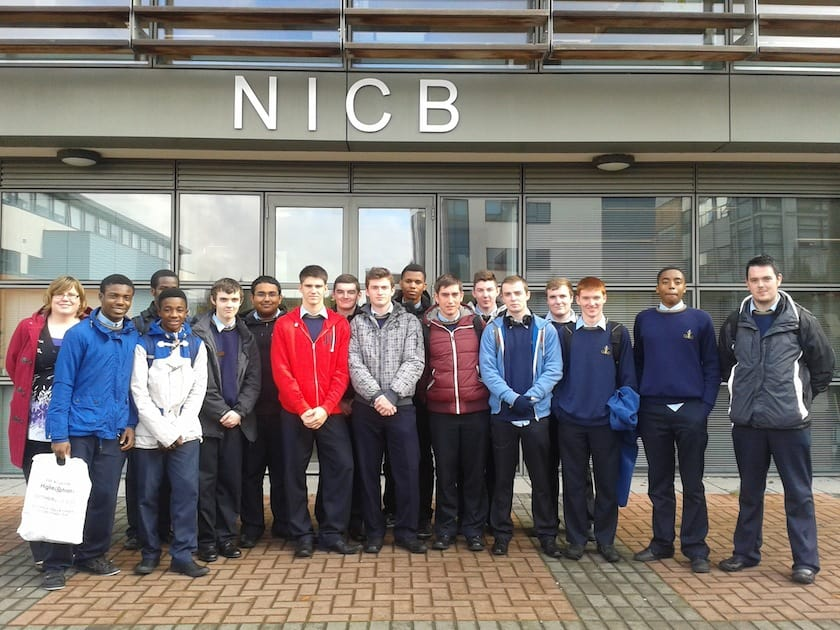 LCVP site visit to National Institute for cellular biotechnology