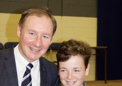 Visit Of Jim Gavin and Sam 2015