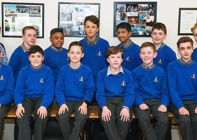 Moyle Park 1st Year History Club with Ms Roche