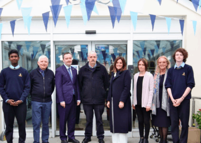 Past pupil and Irish Ambassador to Malta, Patrick Duffy visits Moyle Park
