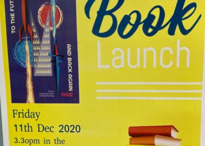 TY Book Launch – To The Future and Back Again